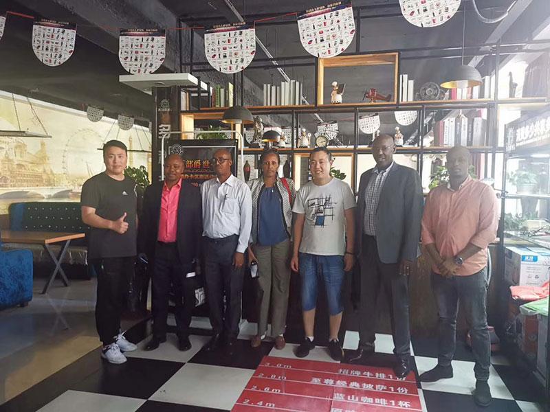 One of the Biggest Uganda Garment Factory Team Visit Xingye Textile