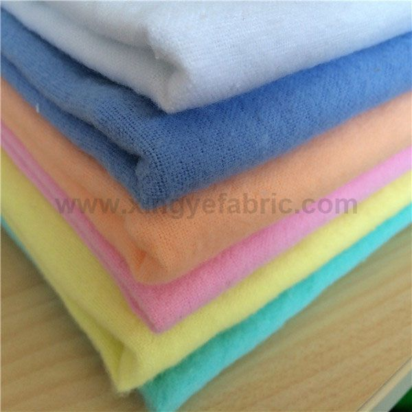 Plain Dyed Cotton Flannel Fabric
