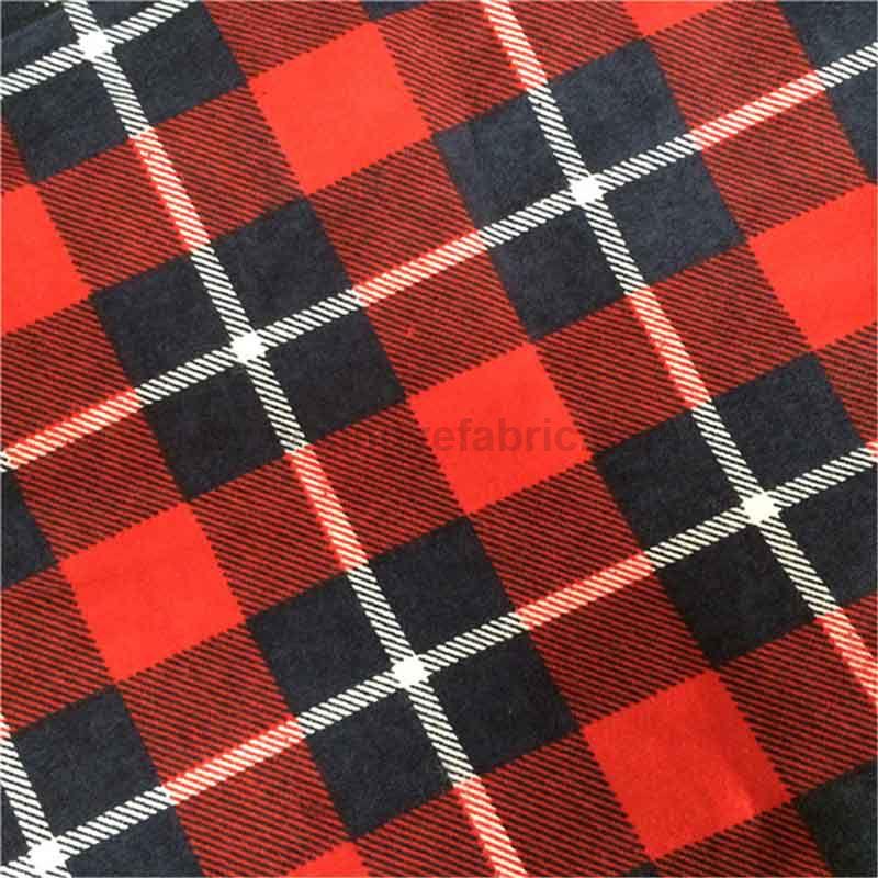Print Cotton Flannel Fabric