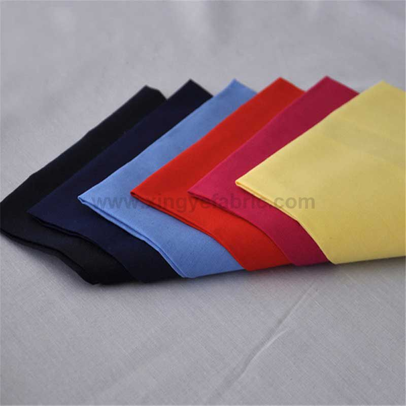 Poly/Cotton Herringbone Pocketing Fabric TC9