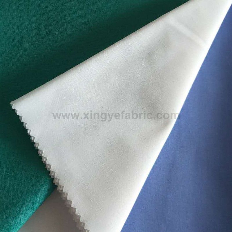 65 polyester 35 cotton plain dyed shirting fabric